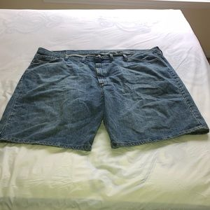 Mens Wrangler Jean Shorts Size 48W